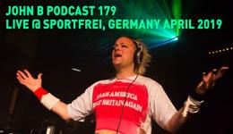 John B Podcast 179: Live @ Sport Frei! – Weimar, DE